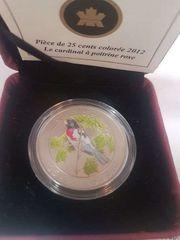 münze canada 2012 25 cent