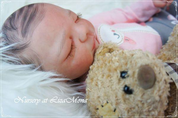 CAROLINE nicht echte Babys REBORN