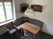 Eckbank mit Staumöglichkeit 3 Stühle