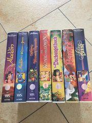 VHS Disney Meisterwerke mit Hologrammen
