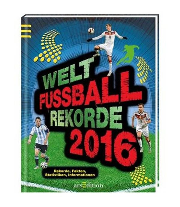 Buch Welt Fußball Rekorde 2016