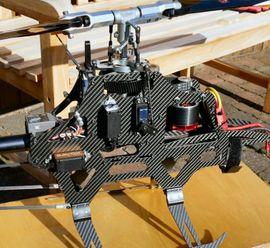 RC-Modelle, Modellbau - Plochinger RC Heli Voodoo 700