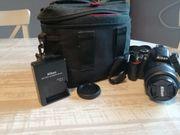 Nikon D3200 Spiegelreflexkamera zu verkaufen