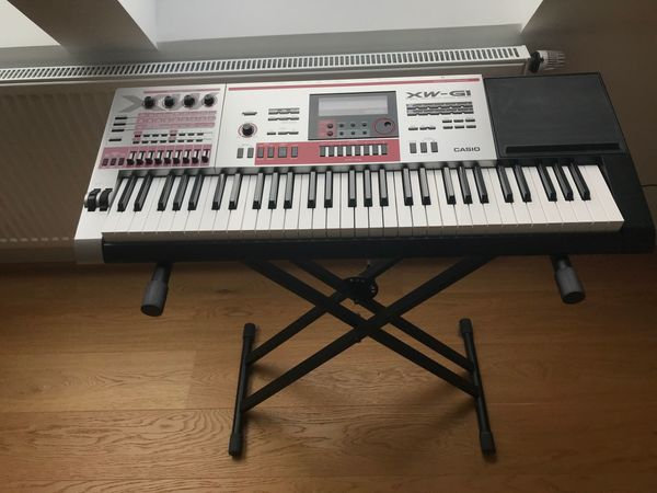 Synthesizer CASIO XW-G1 - Sample Groove