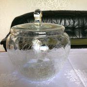 Glas - Bowle mit 5 Gläsern