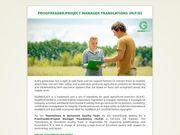 Proofreader Project Manager Translations m