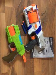 Nerf Gun und zwei andere
