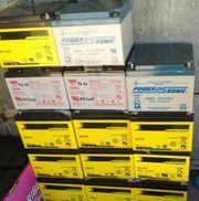 Sun Batterien für Solar Anlagen