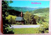 alte Ansichtskarte - Feldberg im Schwarzwald