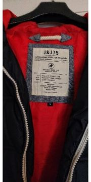 Jack Jones Winterjacke mit Kapuze
