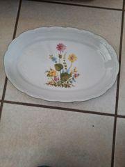 Bavaria Porzellan Schale mit Blumenmuster