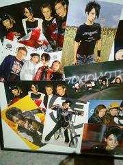 Tokio Hotel Bilderrahmen mit Karten