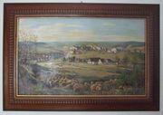 Ölbild Ölgemälde Sontheim Stubental Sontheimer