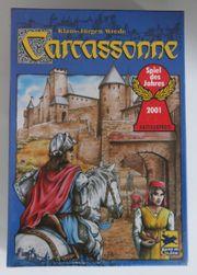 Carcassonne mit 1 2 Erweiterung -