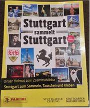 Panini Sticker Klebebilder Stuttgart sammelt