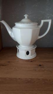 Rosenthal Teekanne mit Stövchen
