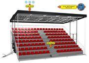 Stadionsitze Tribünenkonstruktionen nur für Großabnehmer