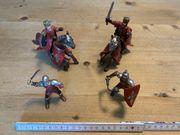 27 Figuren Ritter Pferde Indianer