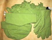 Winter-Set Handschuh Stirnband Schall Mütze