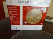 super tolle LED beleuchtete Papierkugel
