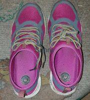 getragene Schuhe