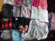 16 Langarm Shirts Paket Mädchen