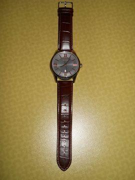 Uhren - BOSS - Armbanduhr mit Lederband