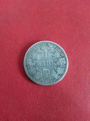 Kaiserreich 1 Mark von 1882