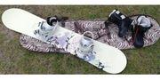 Snowboard Komplettset Damen zum Schnäppchenpreis