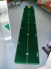 Golfmatte Track putting map