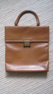 Vintage Lederhandtasche 25 - EUR