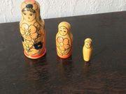 Original Matroschka 3 Figuren - Selten