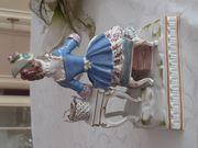 Echt Meissener Porzellan Blumenmädchen