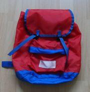 Rucksack rot blau - bonanza - 30