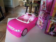 Barbie Cabrio und Kleiderbox