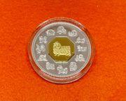 Silberunze 15 Canada Dollars 2003