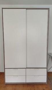Kleiderschrank TRYSIL 118x202x62 cm