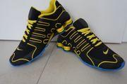 Nike Shox NZ schwarz gelb