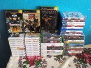 Große Videospiele Sammlung Xbox Xbox360