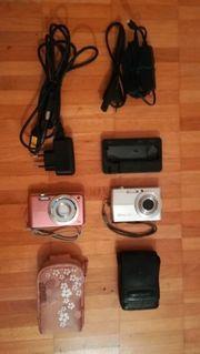 Digitalkameras Samsung ES70 und Casio