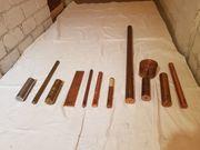 Kupfer-Messing Halbzeug Rundstangen Rundmaterial