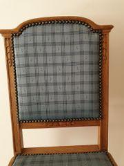 6 schöne antike Stühle für