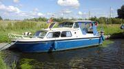 Kajütboot Stahlboot Verdränger ca 8