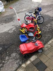 Kinder Puky Dreirad mit Schiebestange