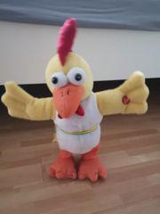 Tanzendes Singendes Huhn Plüschtier Batteriebetrieben