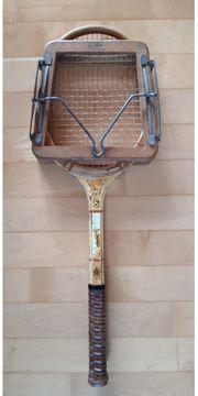 Slazenger Tennisschläger alt antik Holz