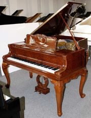 Klavier Flügel Blüthner 190 Vogelaugenahorn