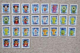 Sonstige Sammlungen - Verkaufe 27 Rewe Disney Wikkeez