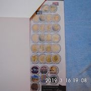 4 Stück 2 Euro Münzen