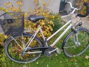 Damen Fahrrad 28 Zoll silber
